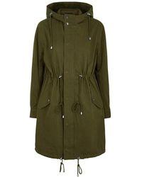 Rails Landon Olive Cotton-blend Jacket - Green