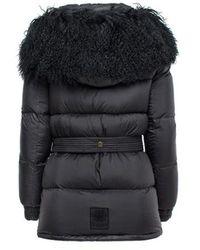 Mr & Mrs Italy - Downjacket Super Light Nylon Mongolia Fur - Lyst