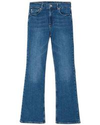 Jigsaw Eltham Slim Flared Jean - Blue