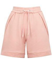 3.1 Phillip Lim Pink Cotton-jersey Shorts