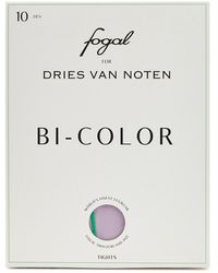 Dries Van Noten X Fogal Lilac 10 Denier Tights - Purple