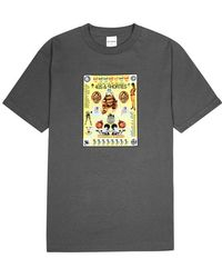 40's & Shorties - Poster Printed Cotton T-shirt - Lyst