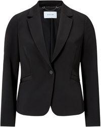 Jigsaw Paris One Button Jacket - Black