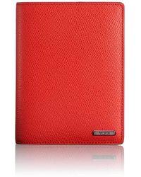 Tumi Passport Cover - Red