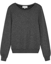 Wildfox Dark Grey Mélange Sweatshirt