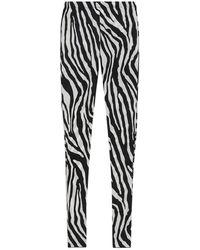 Sportmax Jersey Leggings - White