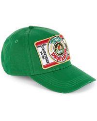 8e1771e3e Green Appliquéd Twill Cap