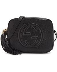 Gucci Soho Small Leather Cross-body Bag - Black