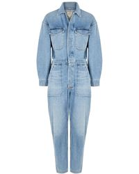 Citizens of Humanity Marta Jumpsuit - Blue