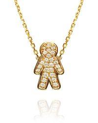 Alinka Jewellery Misha Necklace Yellow Gold - Metallic