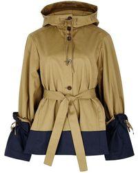 Palmer//Harding - Shadow Hooded Cotton Jacket - Lyst