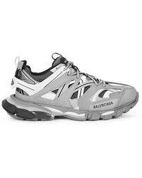 Balenciaga - Track Mesh Running Sneakers - Lyst