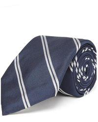 Chester Barrie - Double Stripe Silk Tie - Lyst