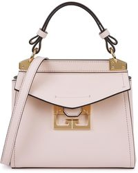 Givenchy Mystic Mini Pink Leather Top Handle Bag