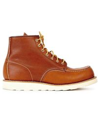 Red Wing - Classic Moc Chestnut Leather Boots - Lyst