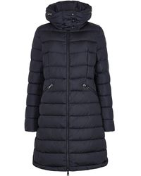 Moncler - Flammette Navy Quilted Shell Jacket - Lyst