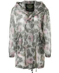 Mr & Mrs Italy - Parka Midi Skin Lt Camou Bouquet - Lyst