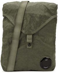 C.P. Company Army Green Nylon Cross-body Bag