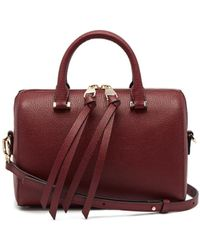 Jigsaw Mini Firth Bowling Bag Leather - Multicolour