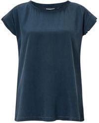 Jigsaw - Layered Sleeve Silk Front Top - Lyst