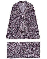 Eberjey - Holly Printed Jersey Pyjama Set - Lyst