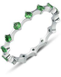 GFG Jewellery by Nilufer Zelena Eternity Ring - Metallic