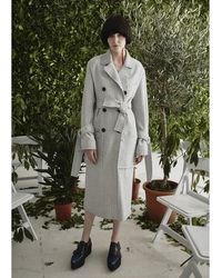 Jamie Wei Huang - Tracy Coat Grey - Lyst