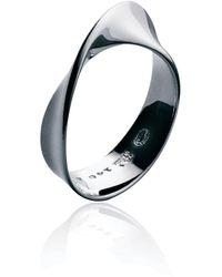 Georg Jensen Möbius Ring - Metallic