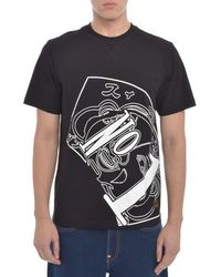 Evisu - Number One Print T Shirt - Lyst