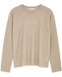Vince Camel Cashmere Sweater - Natural