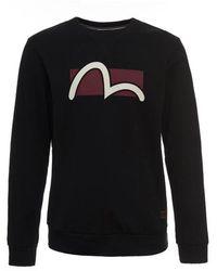 Evisu - Seagull Box Print Sweatshirt - Lyst