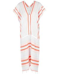 lemlem - Fiesta Striped Cotton-blend Kaftan - Lyst