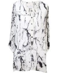Octavia Hix - Novello Shirt Glacier - Lyst