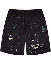 GALLERY DEPT. Studio Gym Black Jersey Shorts