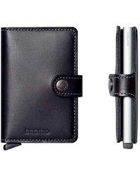 Secrid 6 Card Miniwallet - Black