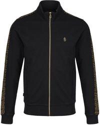 Luke 1977 Dougan Black Sweat Jacket