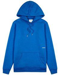 Soulland Wallance Blue Jersey Sweatshirt