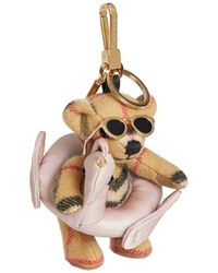 Burberry Thomas Bear Charm In Pool Float - Multicolour