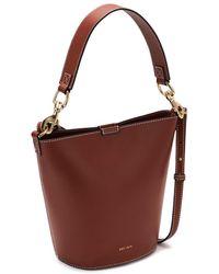 Jigsaw Veg Leather Kenton Bucket Bag - Brown