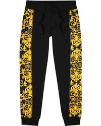 Versace Jeans Couture - Baroque-print Cotton Sweatpants - Lyst