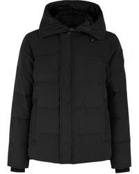 Canada Goose Macmillan Fusion Fit Black Arctic-tech Coat
