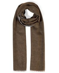 Jigsaw Miller Color Block Scarf - Brown