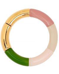 KYOTO TANGO Belly Beaded Resin Bracelet - Green