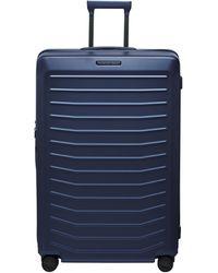 Porsche Design Ori05504 4 Wheel Xl Trolley Case - Blue