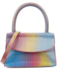 BY FAR Rainbow Mini Leather Top Handle Bag - Multicolor