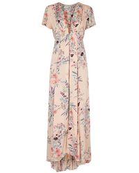 Free People   Deevine Printed Challis Dress   Lyst