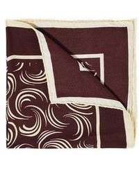 Jigsaw Whisp Pocket Square - Multicolor