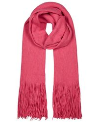 Free People | Kolby Brushed Knitted Scarf | Lyst