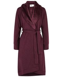 UGG - Duffield Fleece-lined Cotton Jersey Robe - Lyst