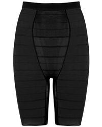 Wacoal Sexy Shaping Stretch-mesh Shorts - Black